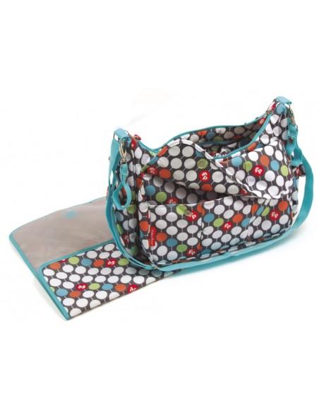 Fisher Price - Bolso Multicolor con cambiador - Regalos Infantiles 2