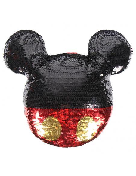 Cojín Lentejuelas Mickey Mouse Disney. 3