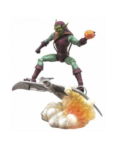 Figura Premium Colección Duende Verde de Spiderman Marvel.