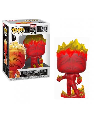 Figura Funko POP! Antorcha Humana Marvel 80th