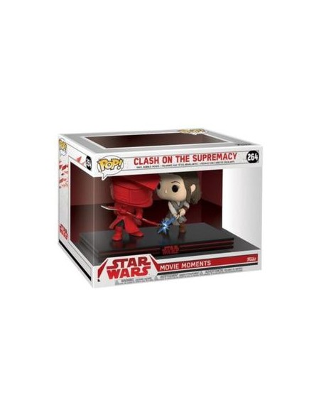 Set 2 figuras Funko POP! Rey + Guardia Pretoriana de Star Wars. 2