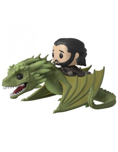 Figura POP Juego de Tronos Jon Snow Rhaegal - Imagen 1