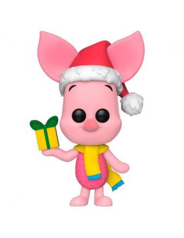 Figura POP Disney Winnie the Pooh Holiday Piglet - Imagen 1
