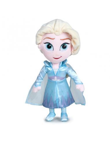 Peluche Elsa Frozen 2 Disney 30cm - Imagen 1