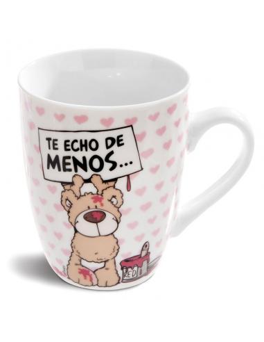 Taza Te Echo De Menos Nici - Imagen 1