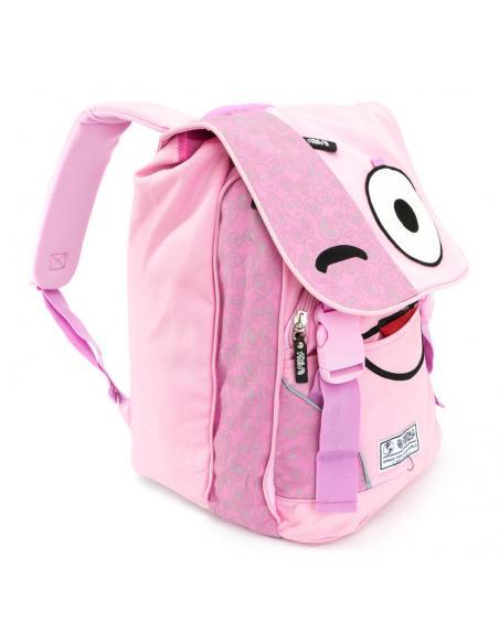Mochila Spirit Emoticons Pink solapa - Imagen 1