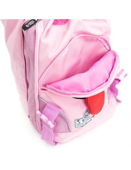 Mochila Spirit Emoticons Pink solapa - Imagen 3