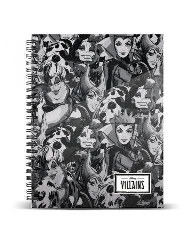 Cuaderno A4 Villanas Disney - Imagen 1