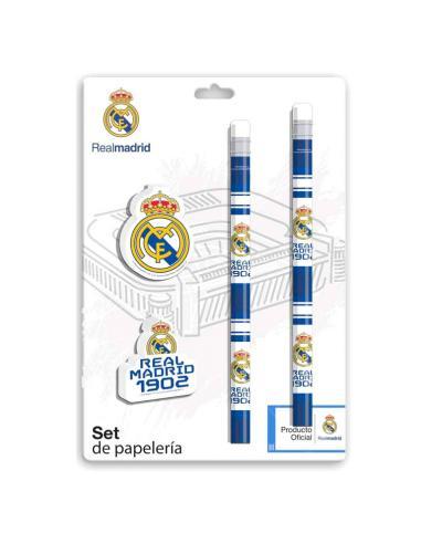 Set papeleria Real Madrid - Imagen 1