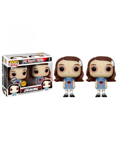 Set figuras POP The Shining The Grady Twins Chase - Imagen 1