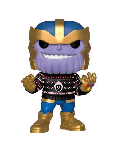 Figura POP Marvel Holiday Thanos - Imagen 1
