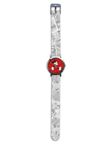 Reloj de pulsera aloy correa nylon de Mickey Classic (st24) - Imagen 1