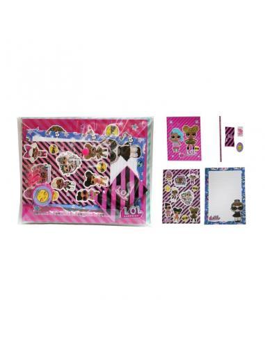 Set Papeleria Lol Surprise 8 piezas A5 - Imagen 1