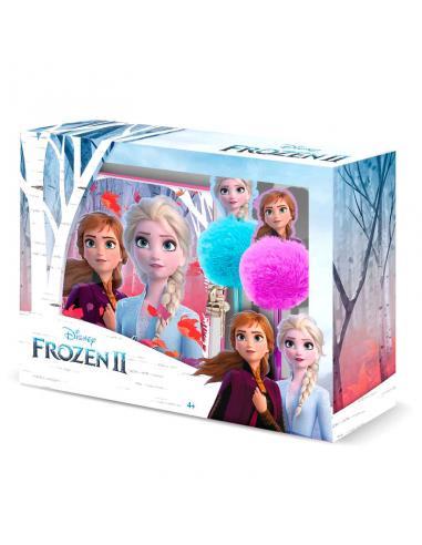 Set diario + boligrafo Frozen 2 Disney - Imagen 1