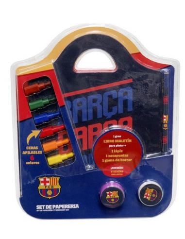 Set papelería maletín de FC Barcelona - Imagen 1
