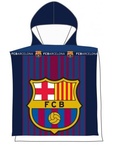 Poncho toalla playa de Fc Barcelona - Imagen 1