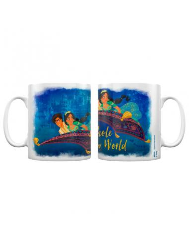 Taza A Whole New World Aladdin Disney - Imagen 1