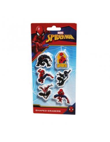 Set 6 Gomas Spiderman 20,5X10 Cms, Env.25 - Imagen 1