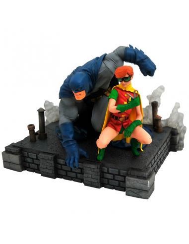 Estatua Batman & Robin The Dark Knight Returns DC Comics 20cm - Imagen 1