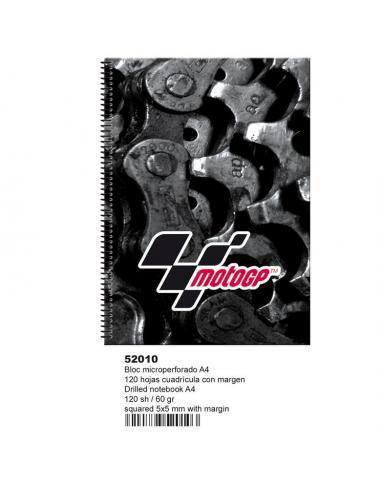 Bloc a4 120 hojas microperf de Moto Gp 'Engine' (st2) (oft16) - Imagen 1