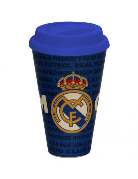 Vaso bambu Real Madrid - Imagen 1