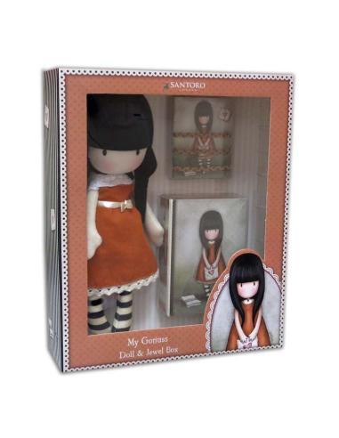 Set muñeca, joyero, accesorios pelo de Gorjuss 'I Gave You My Heart' (2/12) - Imagen 1