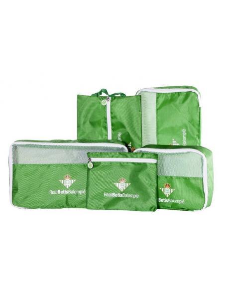 Organizador de Viaje 5 Piezas Verde Real Betis - Imagen 1