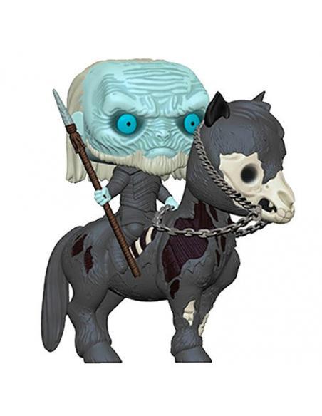 Figura POP Juego de Tronos White Walker on Horse - Imagen 2