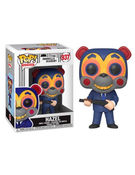 Figura POP Umbrella Academy Hazel with mask - Imagen 1