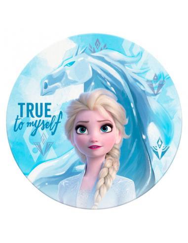 Toalla redonda Frozen 2 Disney microfibra - Imagen 1