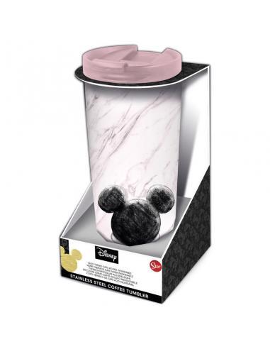 Vaso cafe acero inoxidable Mickey Disney 425ml - Imagen 1