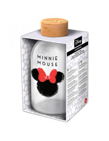 Botella cristal Minnie Disney 620ml - Imagen 1