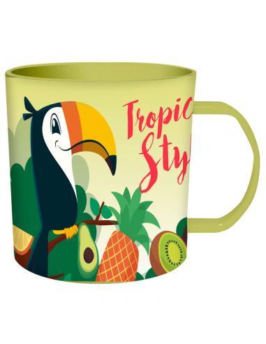 Taza Tucan Tropical Style microondas - Imagen 1