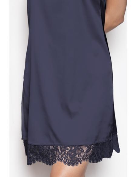 ADMAS Camisola Tirantes Navy & Black para Mujer - Imagen 6