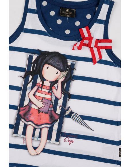 SANTORO Pijama Tirantes Summer Days para Niña - Imagen 2