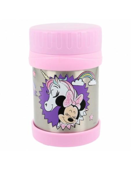 Recipiente isotermico acero inoxidable 430ml de Minnie Mouse