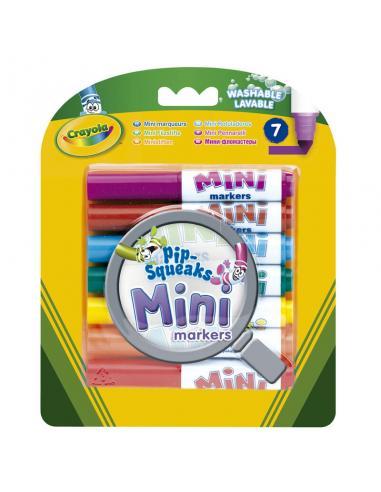 Set 7 Mini Rotuladores Lavables Crayola - Imagen 1