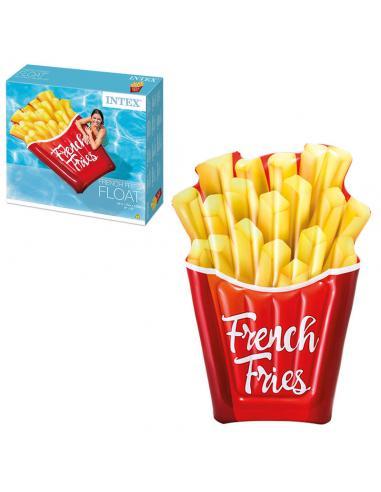 Colchoneta patatas fritas hinchable - Imagen 1