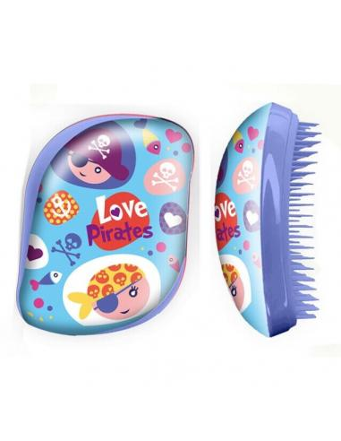 Cepillo de pelo sin mango en caja acetato de Pirates (st24) - Imagen 1