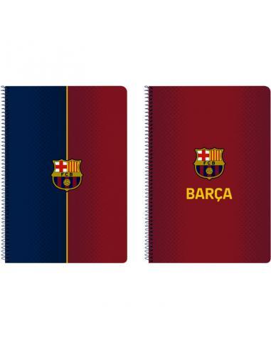 Libreta folio 80 hojas tapas duras de Fc Barcelona '1ª Equip. 20/21' - Imagen 1