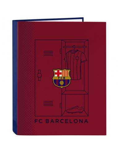 Carpeta folio 4 anillas mixtas de Fc Barcelona '1ª Equip. 20/21' - Imagen 1