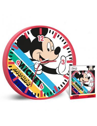 Reloj pared 25cm de  Mickey Mouse (st12) - Imagen 1