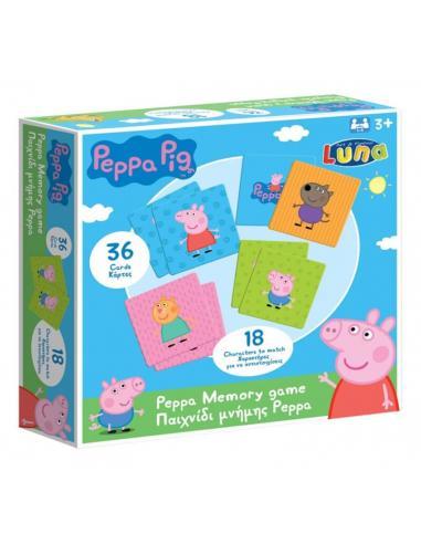 Juego memoria de Peppa Pig - Imagen 1