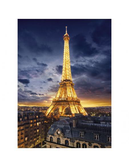 Puzzle High Quality Tour Eiffel 1000pzs - Imagen 2