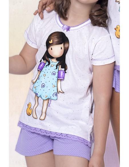 pijama-gorjuss-infantil-manga-corta