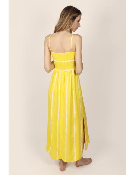 ADMAS Vestido Largo Playa de Tirantes Tie & Dye para Mujer - Imagen 2