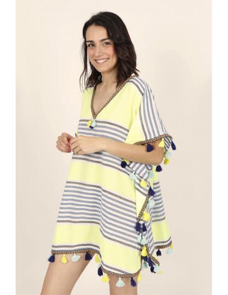 ADMAS Vestido Kafkano Sun para Mujer - Imagen 2