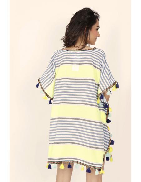ADMAS Vestido Kafkano Sun para Mujer - Imagen 3