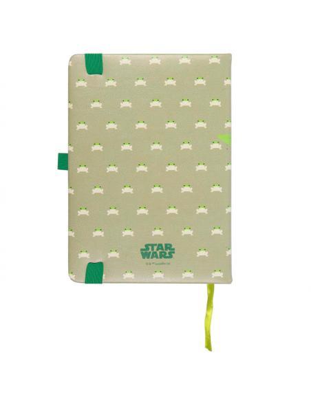 Cuaderno A5 polipiel Yoda Child The Mandalorian Star Wars - Imagen 2