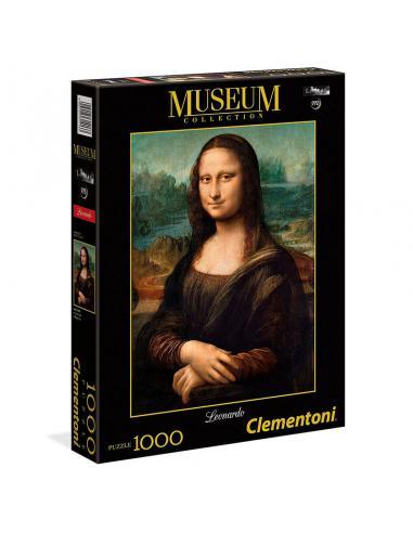 Puzzle Mona Lisa Leonardo Museo Louvre 1000pzs - Imagen 1
